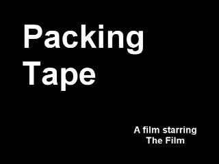 MedicineFilms.com - Packing Tape