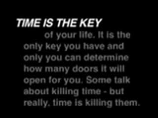 MedicineFilms.com - Time is the Key
