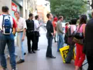 MedicineFilms.com - Street Performance or Humiliation?