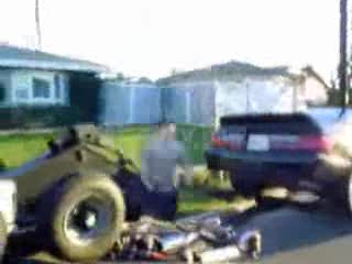 MedicineFilms.com - Kid Gets Owned By Towed Truck