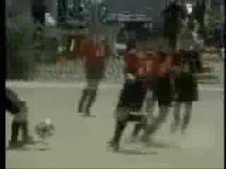 MedicineFilms.com - Tornado Suddenly Appears in Soccer Game in Toyko, Japan