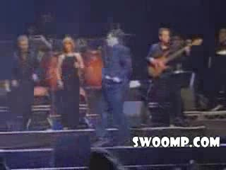 MedicineFilms.com - Mexican Singer Falls Off Stage