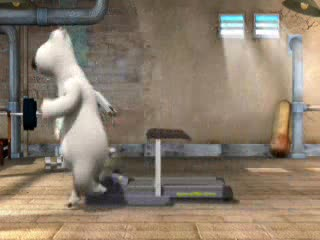 MedicineFilms.com - Fun Bear - Treadmill