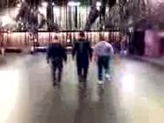 MedicineFilms.com - Three guys kickin' out a dance floor...
