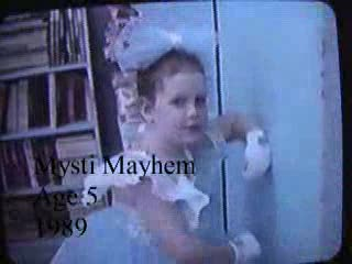 MedicineFilms.com - Before there was Spellbox, Miss Mayhem wore a TooToo