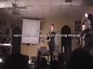 MedicineFilms.com - Bishop Bishop preaches at LateNight Gainesville