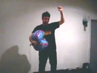 Corey Feldman and Old Balloon Popping