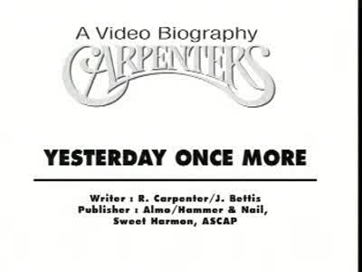 MedicineFilms.com - The Carpenters
