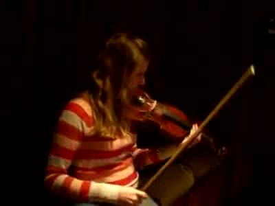 Wendy Plays Violin