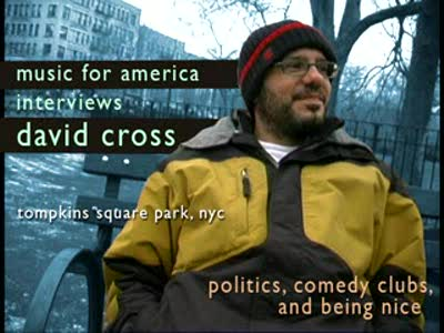 MedicineFilms.com - David Cross - Politics