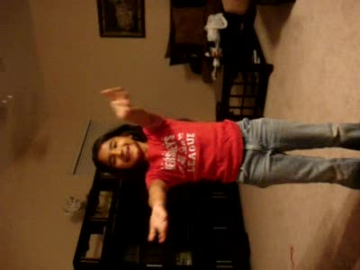 MedicineFilms.com - Cameron doing the months of the year.. Macarena Style!!!