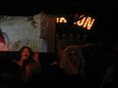 MedicineFilms.com - Flaming Fire on Halloween at Silverlake Lounge