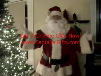 MedicineFilms.com - Santa Sal Gives Gifts