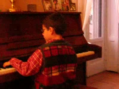 MedicineFilms.com - Lorenzo On The Piano