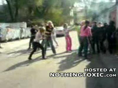 MedicineFilms.com - The Biggest Girl Fight Ever Breaks Out in Russia