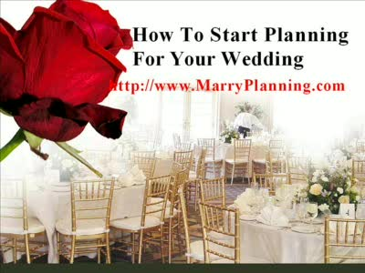 MedicineFilms.com - How To Start Planning For Your Wedding - Wedding Guide Checklist