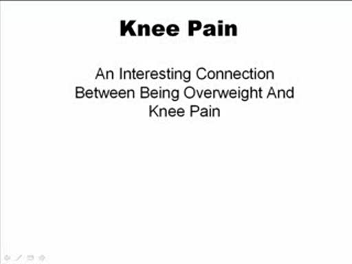 MedicineFilms.com - Knee Pain Prevalence