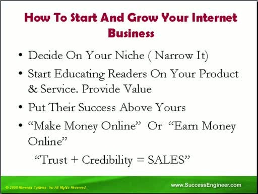 MedicineFilms.com - HOW TO START AND GROW YOUR INTERNET BUSINESS