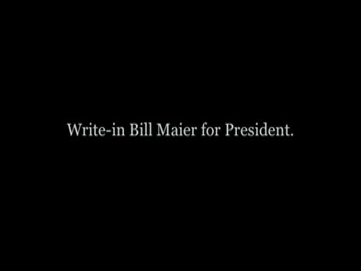 MedicineFilms.com - Bill Maier, Jr. For President