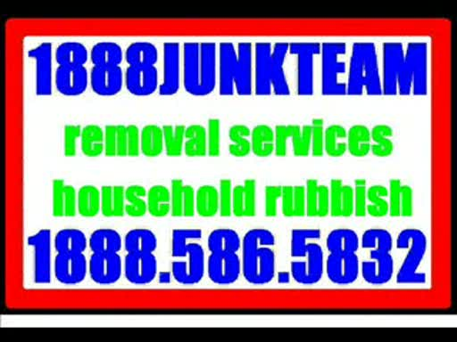 MedicineFilms.com - Sunnyvale junk removal and hauling service 1888JUNKTEAM