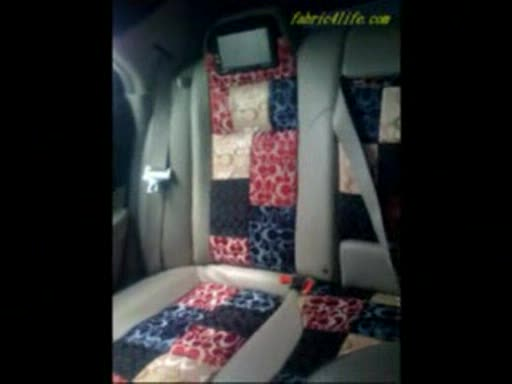 MedicineFilms.com - how to DIY headliner for car interior fabric LV fabric Gucci fabric Coach f