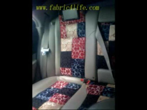 How To DIY Headlinerseatcover For Car Interior By