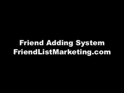 MedicineFilms.com - MySpace Friend Adding and Building Your Fans! Learn this Secret!