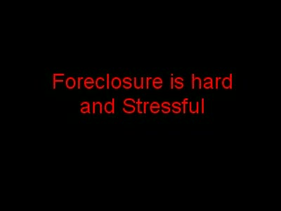 MedicineFilms.com - To Stop Foreclosure in the Salt Lake City Utah area, Keep it Simple