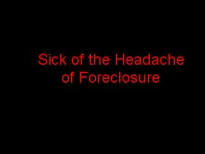 MedicineFilms.com - Don't let Foreclosure Stop You, Keep It Simple Utah