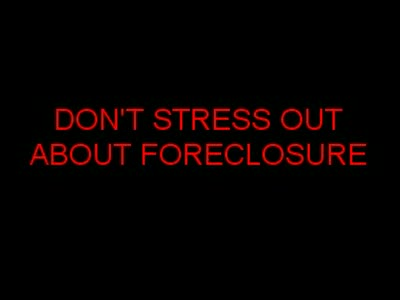 MedicineFilms.com - To Stop Foreclosure Utah, Keep it Simple