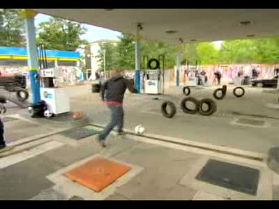 MedicineFilms.com - Coke Zero' Presents: Wayne Rooney's Street Striker – Tyre Challenge