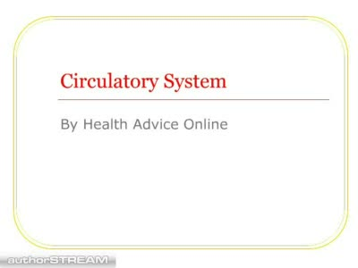 MedicineFilms.com - Circulatory System 1