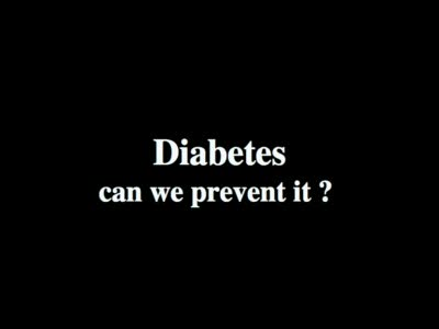 MedicineFilms.com - Diabetes -You can avoid it.