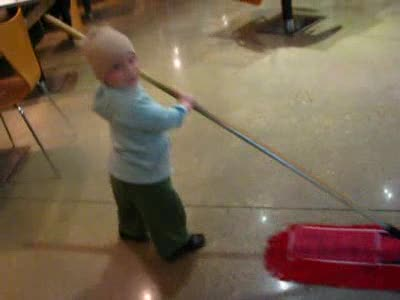 MedicineFilms.com - Matthew loves to Sweep! :)