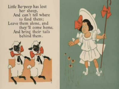 MedicineFilms.com - Little Bo Peep - English nursery rhyme