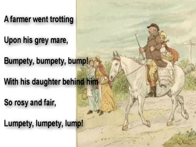MedicineFilms.com - A Farmer went Trotting Nursery Rhyme