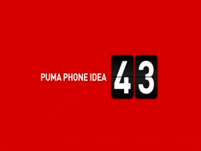 MedicineFilms.com - Puma Phone - Made for sporty people