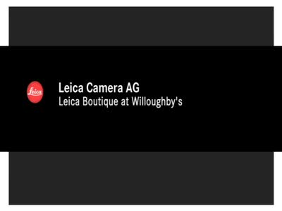 MedicineFilms.com - Leica Boutique Video